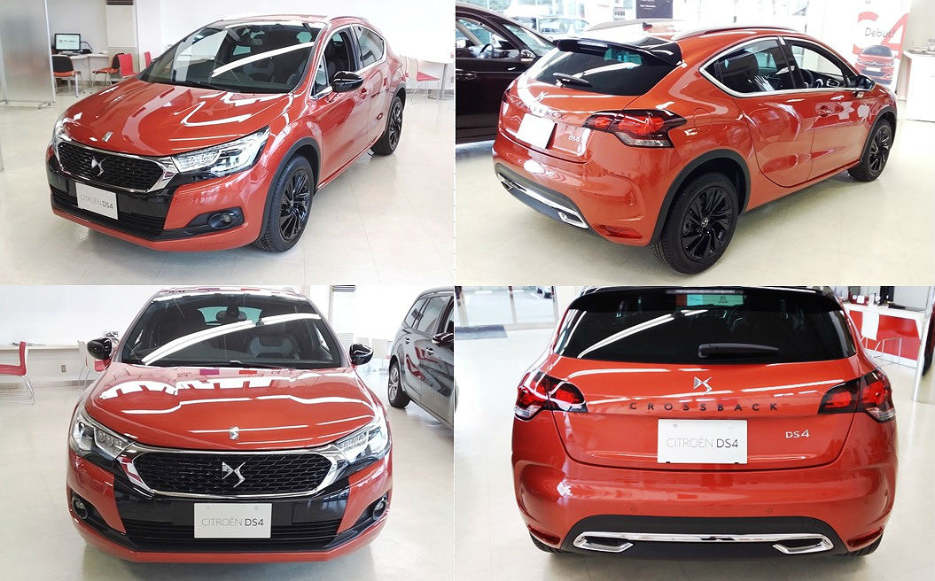 NewDS4 CROSS BACK展示車入荷のご案内